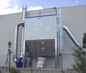SYSTEMS FOR THE SUCTION, FILTRATION AND STORAGE