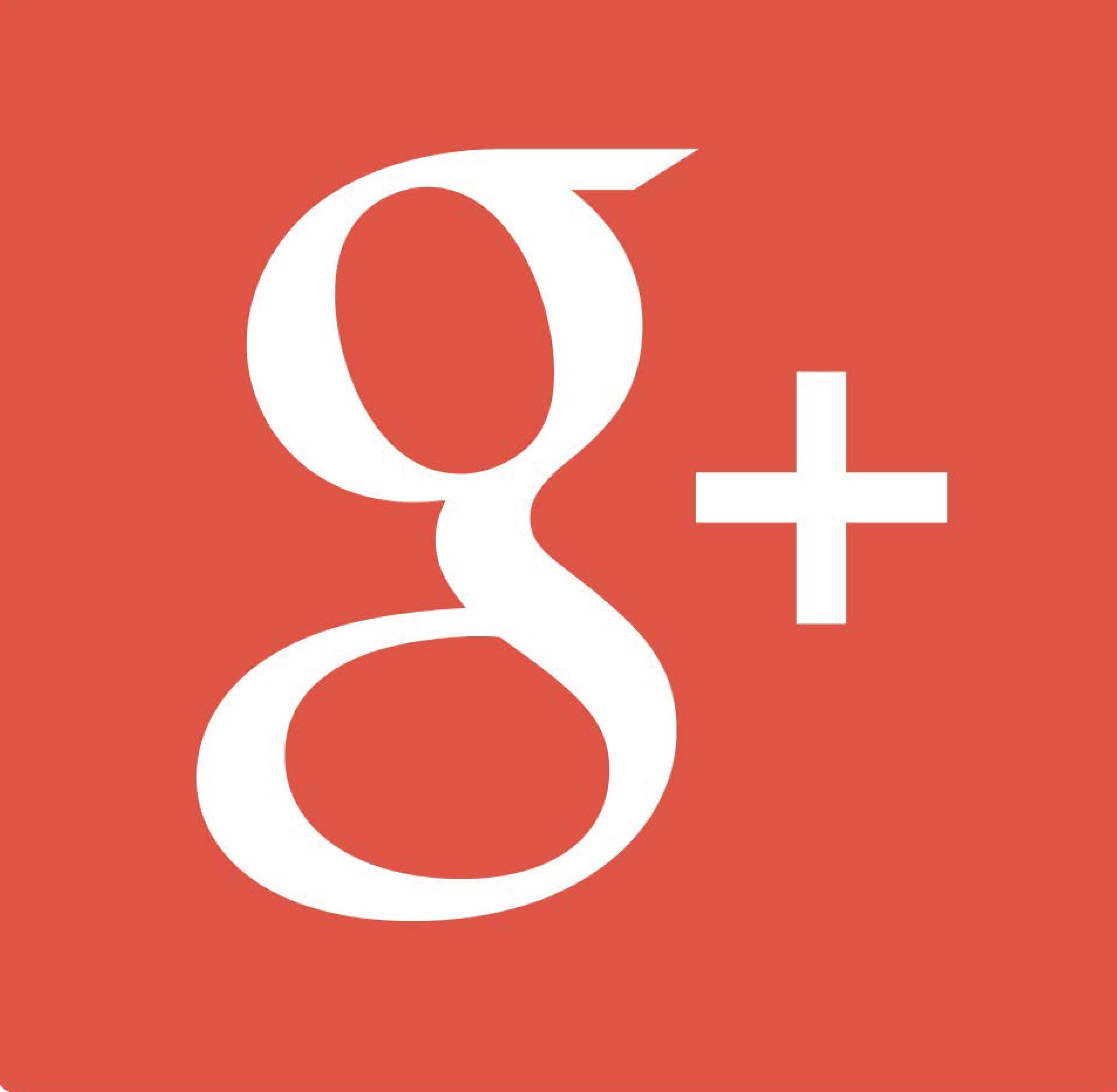 GOOGLE PLUS LOGO QUADRATO