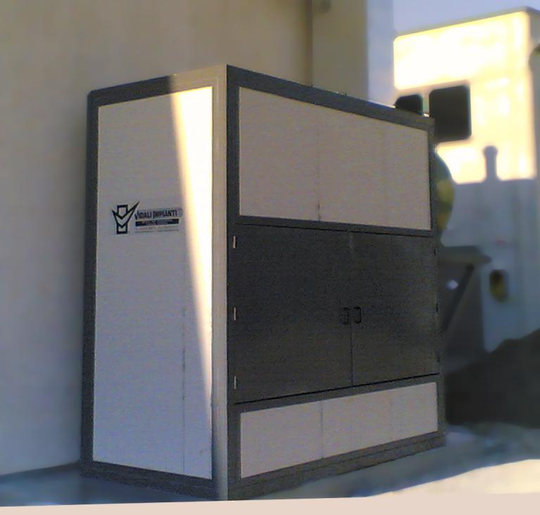 Armadio di filtrazione dell 39 aria a secco vidali finishing for Planimetrie dell armadio