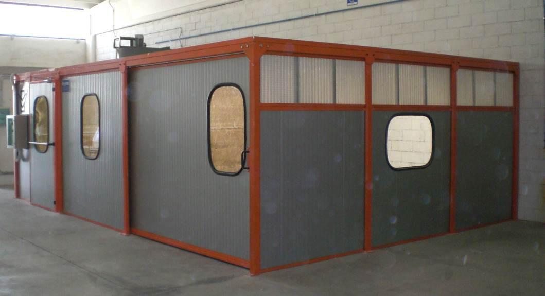 Cabine per verniciatura a depressione vidali finishing for Cabine di legno di whitetail